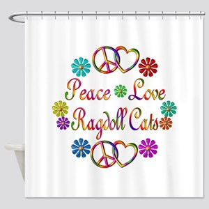 Ragdoll Cats Shower Curtain