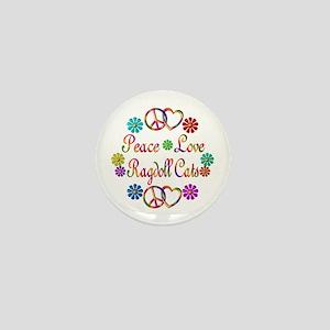 Ragdoll Cats Mini Button