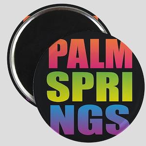 Palm Springs Black Rainbow Magnets