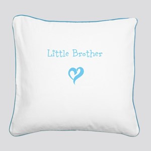 Little Brother Square Canvas Pillow