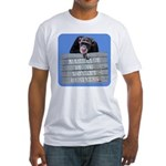 Marriage Monkey Business (Blue) Fitted T-Shirt