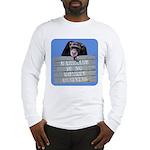 Marriage Monkey Business (Blue) Long Sleeve T-Shir