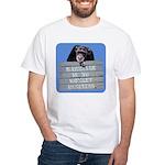 Marriage Monkey Business (Blue) White T-Shirt