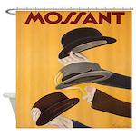 Vintage Italian Cappiello Hat Shower Curtain