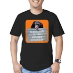 Marriage Monkey Business (Orange) Men's Fitted T-S