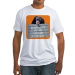 Marriage Monkey Business (Orange) Fitted T-Shirt