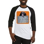Marriage Monkey Business (Orange) Baseball Jersey