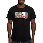 Men's Fitted T-Shirt (dark) 4