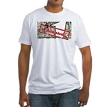 Men's Fitted T-Shirt (white) 4