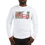 Men's Long Sleeve T-Shirt (white) 4