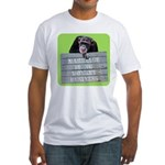 Marriage Monkey Business (Green) Fitted T-Shirt