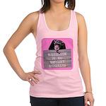 Marriage Monkey Business (Pink) Racerback Tank Top