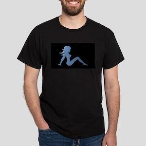 Trucker Girl Black T-Shirt
