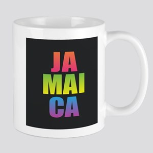 Jamaica Black Rainbow Mugs