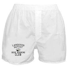 Book Burning 101 Boxer Shorts