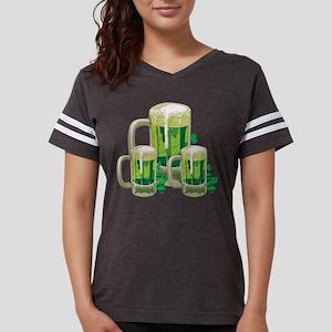 Green Beer Womens Football Shirt
