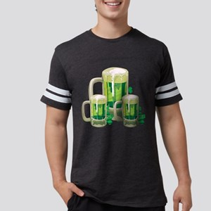 Green Beer Mens Football Shirt