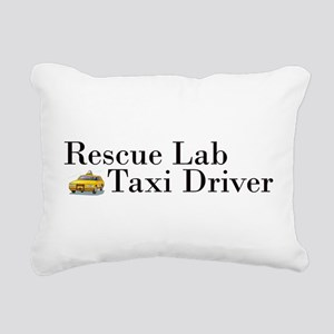 Rescue Lab Taxi Rectangular Canvas Pillow