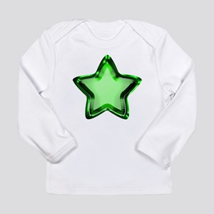 Green Star Long Sleeve Infant T-Shirt