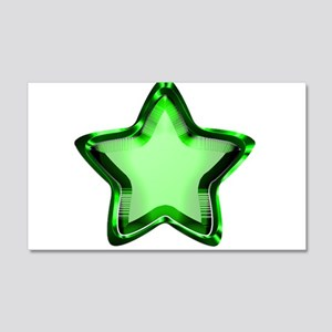 Green Star 20x12 Wall Decal