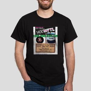 Long Time WFTL Fan Black T-Shirt