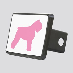 bouvier pink Rectangular Hitch Cover