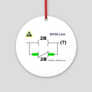 2Bnot2B Ladder Logic Ornament (Round)
