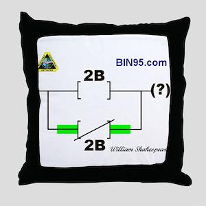 2Bnot2B Ladder Logic Throw Pillow