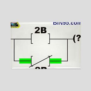2Bnot2B Ladder Logic Rectangle Magnet