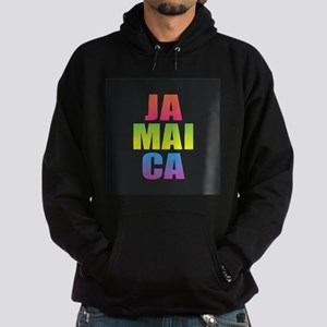 Jamaica Black Rainbow Sweatshirt