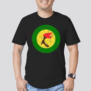 Zaire Roundel Men's Fitted T-Shirt (dark)