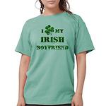 Irish Boyfriend Womens Comfort Colors Shirt