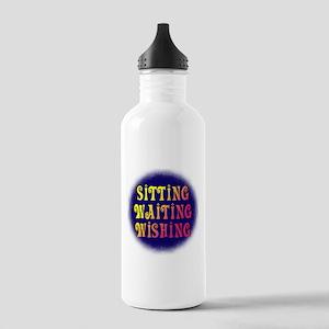 Sitting Waiting Wishing Stainless Water Bottle 1.0