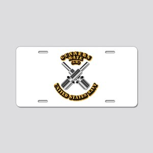 Navy - Rate - GM Aluminum License Plate