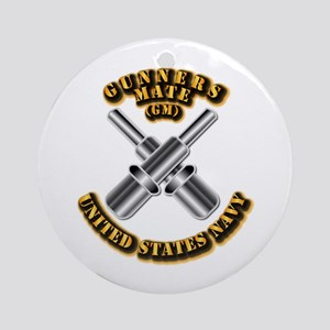 Navy - Rate - GM Ornament (Round)