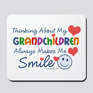 I Love My Grandchildren Mousepad