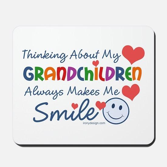 I Love My Grandchildren Mousepad