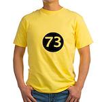 Sheldon Black 73 Yellow T-Shirt