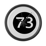 Sheldon Black 73 Large Wall Clock