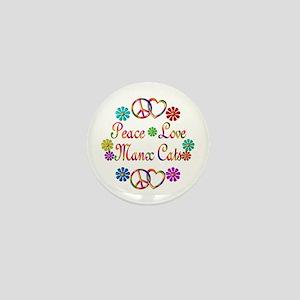 Manx Cats Mini Button