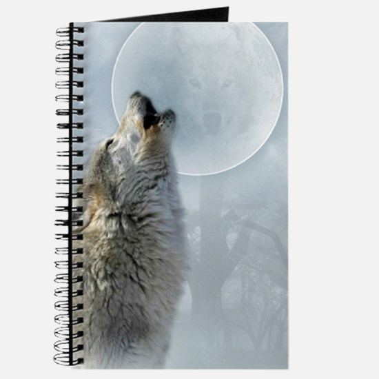 Wolf Blue Moon Journal