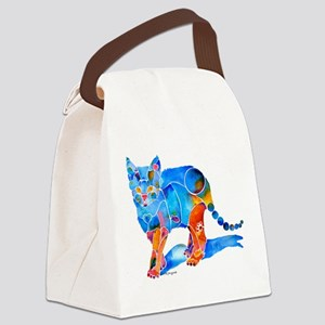 WhimzicalKatieKittyCafe Canvas Lunch Bag