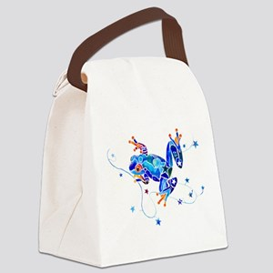 Frog104CafeZ Canvas Lunch Bag
