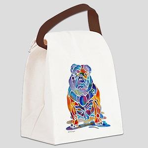 EngBulldog Canvas Lunch Bag