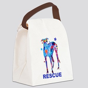 GreyhoundRescue Canvas Lunch Bag