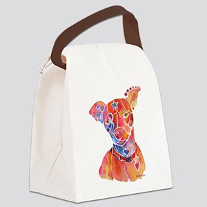 MoochSpoiledAustin Canvas Lunch Bag
