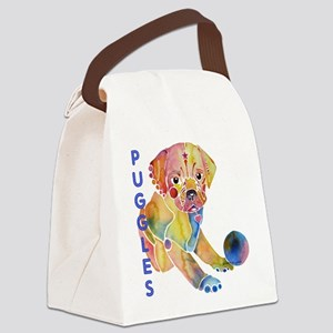 PugglePuppy1 Canvas Lunch Bag