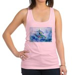 Dolphins4Cafe Racerback Tank Top