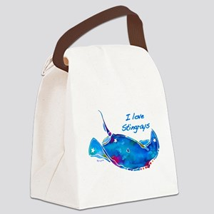 StingRayLove Canvas Lunch Bag