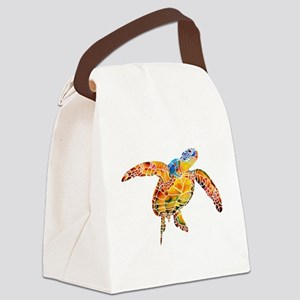 SeaTurtle Canvas Lunch Bag